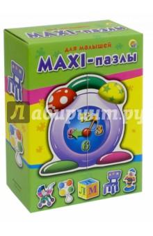 Макси-пазлы ДЛЯ МАЛЫШЕЙ (ПМ-9571)Пазлы (15-50 элементов)<br>Макси-пазл - отличная развивающая игра для самых маленьких. С ее помощью у ребенка будут совершенствоваться наблюдательность, ассоциативное мышление и мелкая моторика рук. Вы с малышом прекрасно проведете время, с удовольствием собирая забавные красочные фигурки, состоящие из 2-3 частей.<br>В комплекте 6 фигурок.<br>Материал: картон.<br>Упаковка: картонная коробка.<br>Сделано в России.<br>