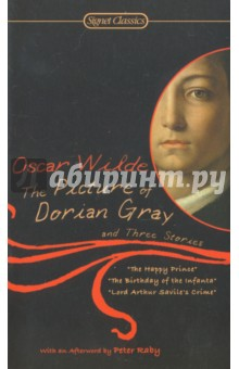 The Picture of Dorian Gray and Three StoriesХудожественная литература на англ. языке<br>The Picture of Dorian Gray, Oscar Wilde s only full-length novel, is the enduringly eerie story of a naive and irresistible, young man lured by decadent Lord Henry Wotton into a life of depravity. Though Dorian is steeped in sin, his face remains perfect, unlinea1 as years pass-while only his portrait, locked away, reveals the blackness of his soul. This timeless tale of Gothic horror and fable, reveling in the unabashed hedonism and cynical wit of its characters, epitomizes Wilde s literary revolt against the proprieties of the Victorian era.<br>Sharing this volume with The Picture of Dorian Gray are Wilde s clever and sophisticated story Lord Arthur Savile s Crime and two of his delicate fairy tales, The Happy Prince and The Birthday of the Infanta.<br>