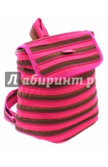 Рюкзак Zipper Backpack, цвет розовый/коричневыйРюкзаки школьные<br>Рюкзак изготовлен из 1 длинной молнии.<br>Удобное и прочное одно большое внутреннее отделение.<br>Полностью регулируемые ремни.<br>Размер: 32х13х33 см.<br>Материал: полиэстер.<br>Сделано в Китае.<br>