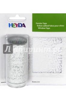 Наклейка многоразовая Орнамент (76 мм х 2м)Наклейки детские<br>Декоративная наклейка Heyda. Благодаря красочному принту и крепкой клеевой основе поможет украсить вашу открытку, поделку или добавит новых красок в декор. Подходит для многоразового использования. Для лучшего эффекта - используйте наклейку на гладких поверхностях, разгладьте после поклейки. <br>Рисунок: Орнамент<br>Размер наклейки: 7,6 x 200 см.<br>