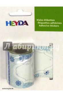Наклейка снимаемая (96 х 46мм, 24 шт., ролик)Наклейки детские<br>Декоративная адресная наклейка Heyda. Благодаря красочному принту и крепкой клеевой основе поможет украсить вашу открытку или поделку, добавив индивидуальности вашему подарку.  Подходит для многоразового использования. Для лучшего эффекта - используйте наклейку на гладких поверхностях, разгладьте после поклейки. <br>Наклеек хватит не на один праздник - ведь в одном ролике их 24 штуки. А ассорти принтов поможет подобрать подходящую картинку к празднику.<br>