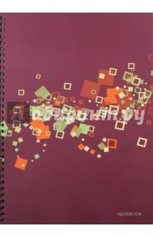 Тетрадь для конспектов, 96 листов, А4 Офисный стиль. Яркая геометрия (ТСФ4964230)Тетради большеформатные<br>Тетрадь для конспектов.<br>96 листов.<br>Формат А4.<br>Тип бумаги: офсет.<br>Разлиновка: клетка.<br>Переплет: мелованный картон, тиснение золотой фольгой.<br>Крепление: двойная евроспираль.<br>Сделано в России.<br>
