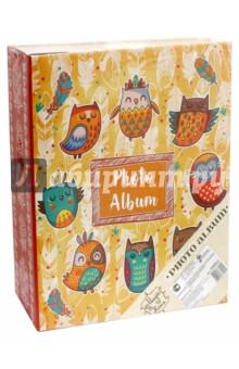 Фотоальбом Милые совы (44862)Альбомы и рамки для фотографий<br>Фотоальбом  с обложкой из картона.<br>С листами из картона с клеевым покрытием и пленкой - ПВХ для крепления фото.<br>С креплением на кольцах.<br>Количество листов: 50.<br>Размер: 23,5х28,5.<br>Материал: Картон, ПВХ.<br>Сделано в Китае.<br>