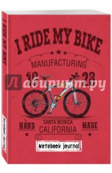 """Блокнот """"I ride my bike. Красный"""", А 5"""