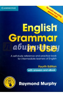 English Grammar in Use with answers and eBookАнглийский язык<br>The world s best-selling grammar series for learners of English. English Grammar in Use Fourth edition is an updated version of the world s best-selling grammar title. It has a fresh, appealing new design and clear layout, with revised and updated examples, but retains all the key features of clarity and accessibility that have made the book so popular around the world. This edition includes an eBook which has the same grammar explanations and exercises found in the printed book, plus other great features. You can listen to all of the example sentences from the book, record your answers to exercises, highlight text, bookmark pages and add your own personal notes.<br>