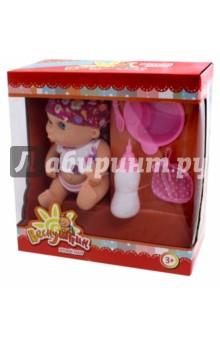 Пупс Веснушкин с аксессуарами в коробке (Т10575)Куклы<br>Пупс с аксессуарами (4 шт).<br>Материал: пластмасса, текстильные материалы.<br>Не предназначено для детей младше 3 лет.<br>Сделано в Китае.<br>