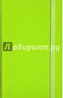 Записная книжка Lifestyle, 96 листов (AZ110/lgt-green)Записные книжки средние (формат А6)<br>Обложка - твердая, приятный на ощупь европейский переплетный материал, цвет - салатовый. <br>Блок - клетка, 192 стр., прямые уголки,  1 широкое ляссе, информационный блок, бумага: 100 % белизны, 70 г/м2, печать 1+1.<br>Формат: 90х140<br>