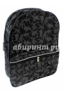 Рюкзак молодежный Хип-хоп (44526)Рюкзаки школьные<br>Рюкзак молодежный Хип-хоп. <br>Материал: текстиль. <br>Два отделения на молнии. <br>Размер: 36х27.5х10 см.<br>