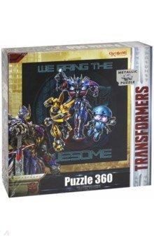 Пазл-360 Transformers (03288)Пазлы (200-360 элементов)<br>Пазл.<br>Количество элементов: 360.<br>Комплектность: 360 карточек с пазловым замком, 1 жетон, магнит. <br>Изготовлено из бумаги, картона и полимерных материалов.<br>Не предназначено для детей младше 3-х лет. Содержит мелкие детали.<br>Рекомендованный возраст 3+.<br>Сделано в России.<br>