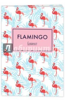 Блокнот Mindfulness. Фламинго, А5Блокноты большие Линейка<br>Если вы полны различными гениальными идеями, постоянно находите для себя что-то новое и хотите это получше изучить, выбирайте блокнот в ярком оформлении среднего размера. Его удобно брать с собой и записывать информацию. Красочные обложки с невероятно красивыми фламинго - воплощением грации и красоты - подарят позитивное настроение в любой день.<br>