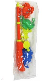 Набор Рыбалка. Морские обитатели (65323)Игрушки для ванной<br>Набор для игры в рыбалку Морские обитатели.<br>Изготовлено из пластмассы, с элементами металла и магнита.<br>Для детей старше 3-х лет. Содержит мелкие детали.<br>Сделано в Китае.<br>