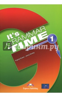 Its Grammar Time 1. Students book. УчебникИзучение иностранного языка<br>It s Grammar Time is a series of four grammar books in full colour. Designed for learners of English at beginner to intermediate level, they systematically present, provide practice of and revise English grammar structures. The series can be used to supplement any main coursebook and is suitable both for self-study and classroom use.<br>Key Features<br>•    clear, simple situational presentation of grammar structures through pictures and jokes<br>•    attractive photographs and illustrations<br>•    comprehensive theory boxes with examples<br>•    a variety of graded exercises where students practise grammar structures taught in context<br>•    speaking and writing activities at the end of each unit aiming to activate grammar structures taught in context<br>•    regular revision units<br>•   further practice material<br>•    regular Exploring Grammar sections<br>