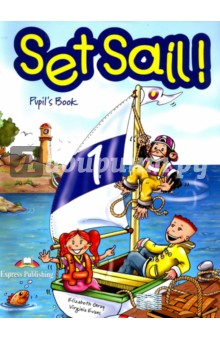 Set Sail 1. Pupils Book. УчебникИзучение иностранного языка<br>Set Sail! is a two-level course for teaching English at early primary levels. Young learners will be captivated by the adventures of Lulu, Larry and their pet chimp, Chuckles. <br>Set Sail! takes pupils on a journey into the English language leading them gently into the practice of all four-skills, starting with pre-reading and pre-writing activities progressing on to more demanding tasks designed to fully equip young learners with the skills to communicate in the target language. <br>Set Sail! 1 puts emphasis on listening and speaking whilst also providing pre-reading and pre-writing activities to introduce young learners to the new language. It comprises six themes of eight pages. Each theme recycles the language taught in the previous themes, extending the pupils  understanding of the English language. <br>Set Sail! 1: Pupil s Book contains realistic dialogues, lively songs and chants, craftwork, listening activities and consolidation pages for each theme.<br>