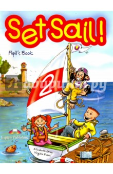 Set Sail 2. Pupils Book. УчебникИзучение иностранного языка<br>Set Sail! is a two-level course primary levels. Young learners for teaching English at early will be captivated by the adventures of Lulu, Larry and their pet chimp, Chuckles. <br>Set Sail! takes pupils on a journey into the English language leading them gently into the practice of all four-skills, starting with pre-reading and pre-writing activities progressing onto more demanding tasks designed to fully equip young learners with the skills to communicate in the target language. <br>Set Sail! 2 comprises six themes of eight pages. Each theme recycles the language taught in the previous themes extending the pupils  understanding of the English language. <br>Set Sail! 2. Pupil s Book contains realistic dialogues, lively songs and chants, craftwork, listening activities, consolidation pages for each theme and a school play to be performed at the end of the year.<br>