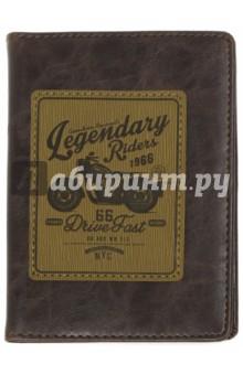 Обложка для паспорта Western (9,5x14 см) (IPC003)Обложки для паспортов<br>Обложка для паспорта.<br>Размер: 9,5х14 см.<br>Снаружи - люксовая искусственная кожа с нашивкой с блинтовым тиснением; внутри - кармашки из искусственной кожи и пластиковый кармашек для мелочей.<br>Сделано в Китае.<br>