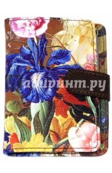 Визитница на 1 окно Floria (7,5х11 см) (IVZ001)Визитницы<br>Визитница на 1 окно с магнитным клапаном. <br>Размер: 7,5х11 см.<br>Снаружи - люксовая искусственная кожа с цветочным принтом, внутри - пластиковые кармашки для 24 визитных карточек.<br>Принт обложки в ассортименте, расположение цветов может варьироваться.<br>Сделано в Китае.<br>