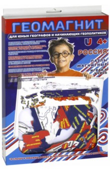 Пазлы магнитные Россия (1018)