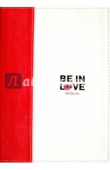 Ежедневник недатированный, 96 листов, 14x20, City in love (AZ505)Ежедневники недатированные и полудатированные А5<br>Обложка - интегральная, искусственная кожа, вертикальная комбинация двух цветов - красного и белого. Блок - недатированный, 192 стр.,  прямые уголки, 1 широкое ляссе, информационный блок, бумага: цвет - 100 % белизны, 70 г/м2, печать 2+2.  <br>Особенности: Тиснение двумя цветами фольги.<br>