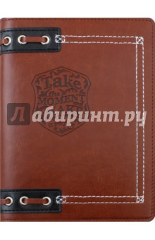 Ежедневник недатированный Born Free (160 листов, 12x17 см) (AZ522emb/brow)Ежедневники недатированные и полудатированные А6<br>Ежедневник недатированный.<br>Обложка - мягкий переплет, искусственная кожа, цвет - коричневый. <br>Блок - недатированный, 320 страниц, прямые уголки, 1 широкое ляссе, информационный блок, бумага: 100 % белизны, 70 г/м2, печать 2+2. <br>Особенности: тиснение, нашивка, люверсы.<br>Сделано в России.<br>