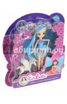 Кукла Алиса в стране волшебных друзей (66586)Куклы<br>Кукла.<br>Изготовлено из пластмассы, ПВХ-пластизоля, текстильных материалов.<br>Для детей от 3-х лет. Содержит мелкие детали.<br>Сделано в Китае.<br>