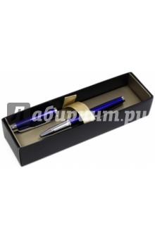 Ручка шариковая IM Metal K223 синяя, подарочная коробка (R0736980)Ручки шариковые автоматические синие<br>Характеристики:<br>Цвет чернил: синий.<br>Линия письма: средняя<br>Упакованав подарочную упаковку.<br>Произведено в Китае.<br>