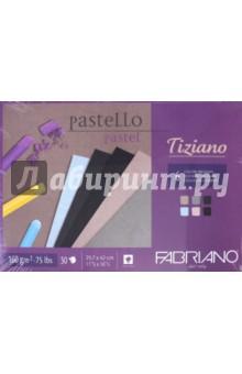 Альбом для пастели Tiziano (30 листов, А3, 6 цветов) (46229742)Альбомы/папки для профессионального рисования<br>Блокнот для пастели серии Tiziano из цветной фактурной бескислотной бумаги, которая изготавливается холодным прессованием из целлюлозы с добавлением хлопка, что придаёт ей высокую светостойкость. Сцепление материалов для живописи с поверхностью бумаги обеспечивается за счёт её зернистой (шероховатой) фактуры. Бумага Tiziano прекрасно подойдет не только для пастели, но и угля, сангины, сепии или аэрографа. <br>В наборе 6 цветов с разводами: нежно-голубой, бледно-розовый, бледно-бежевый, серый, антрацит, черный.<br>Формат: А3 (297х420 мм)<br>Количество листов: 30.<br>Тип крепления: склейка.<br>Сделано в Италии.<br>