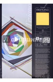 Бумага для пастели Tiziano (25 листов, А3, №05) (72942105)Альбомы/папки для профессионального рисования<br>Листовая бумага для пастели серии «Tiziano» из фактурной бескислотной бумаги, которая изготавливается холодным прессованием из целлюлозы с добавлением хлопка, что придаёт ей высокую светостойкость. Сцепление материалов для живописи с поверхностью бумаги обеспечивается за счёт её зернистой (шероховатой) фактуры. Бумага «Tiziano» прекрасно подойдет не только для пастели, но и угля, сангины и сепии или аэрографа.<br>Формат: А3 (297х420 мм)<br>Количество листов: 25<br>Тип крепления: склейка.<br>Сделано в Италии.<br>