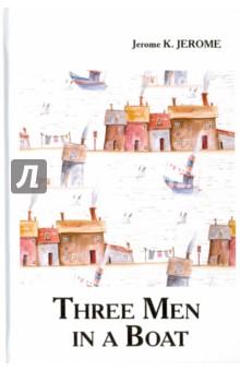 Three Men in a BoatХудожественная литература на англ. языке<br>Сколько нужно джентльменов, чтобы открыть консервную банку? В многократно экранизированном романе Трое в лодке, не считая собаки известный английский писатель Джером К.Джером в ироничной форме описывает жизнь, быт и нравы Англии конца XIX века. История, прекрасная в своей простоте, покорила сердца читателей всего мира. Трём джентльменам приходит в голову идея отправиться на лодочную прогулку по Темзе, прихватив за компанию верного четвероногого друга... Чем закончится так идиллически начинающееся путешествие? Читайте зарубежную литературу в оригинале!<br>