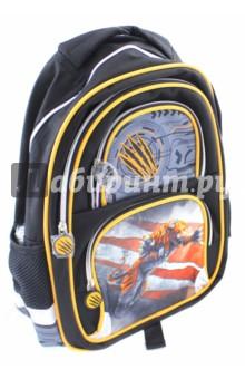 Рюкзак для младших классов Тигр (38х30х14 см) (226398)Ранцы и рюкзаки для начальной школы<br>Рюкзак для начальной школы.<br>Возрастная группа: 7-10 лет<br>Рюкзак имеет:<br>- 1 большое отделение на молнии.<br>- 2 накладных кармана спереди на молнии. <br>- 2 боковых сетчатых кармана.<br>- Ручки для переноски рюкзака в руках.<br>Длина лямок регулируется.<br>EVA спинка.<br>Светоотражающие вставки.<br>Материал: полиэстер 100%<br>Размер: 38х30х14 см.<br>Производство: Китай.<br>