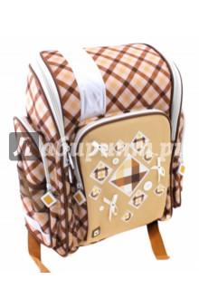 Ранец ортопедический Кембридж (36х26х14 см) (226261)Ранцы и рюкзаки для начальной школы<br>Ранец жесткокаркасный для начальной школы.<br>Форма ранца: классический с верхней крышкой<br>Ранец имеет:<br>- 1 большое отделение на молнии.<br>- 1 накладной карман спереди на молнии. <br>- 2 боковых кармана на молнии.<br>- 2 боковых сетчатых кармана.<br>- Ручки для переноски рюкзака в руках.<br>Длина лямок регулируется.<br>EVA спинка.<br>Светоотражающие вставки.<br>Материал: полиэстер 100%<br>Размер: 36х26х14 см.<br>Производство: Китай.<br>
