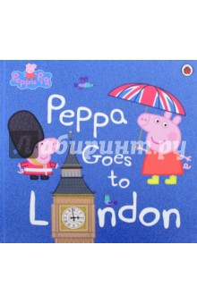 Peppa Goes to LondonЛитература на иностранном языке для детей<br>Peppa and George are going on a very special day out to London! Miss Rabbit s friend, the Queen, borrows a double decker bus and takes Peppa and all her friends on a fun tour of the city s sights in this picture book story based on the exciting new episode. Peppa Pig is shown daily on Five s Milkshake and Nick Jnr.<br>