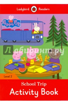 Peppa Pig. School Trip. Activity Book. Level 2Литература на иностранном языке для детей<br>This Activity Book accompanies the Reader. It provides practice of key language structures and vocabulary, while developing a range of skills: singing, spelling, reading, writing, speaking, listening, critical thinking.<br>