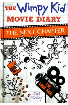 The Wimpy Kid Movie Diary. The Next ChapterЛитература на иностранном языке для детей<br>Go on a movie-making journey of epic proportions in The Wimpy Kid Movie Diary: The Next Chapter Making a movie is a lot like going on a road trip. There are twists and turns and lots of surprises along the way. Hit the road with author and illustrator Jeff Kinney and get a behind-the-scenes look at the making of the latest 20th Century Fox movie, Diary of a Wimpy Kid: The Long Haul. Find out what it takes to film a flock of seagulls invading a mini-van. Learn about a robot pig and an animatronic three-year-old. And discover everything that goes into making a feature film. Complete with exclusive set photos, storyboards and original cartoons by Jeff Kinney. The Wimpy Kid Movie Diary: the Next Chapter is the perfect book for anyone who s ever wondered how a movie gets made. But buckle up: You re in for a wild ride.<br>