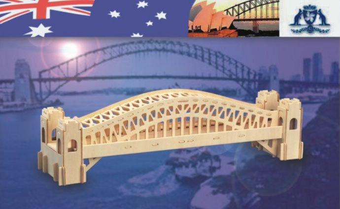 """Иллюстрация 1 из 15 для Сборная деревянная модель """"Сиднейский мост"""" (Р079)   Лабиринт - игрушки. Источник: Лабиринт"""
