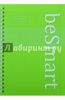 Тетрадь 96листов, спираль, Simplicity, (N646/light-green)Тетради в клетку 96л. и более, пружина<br>Обложка: матовый пластик прокрашенный в массе, толщина пластика 0,7 мм., трафаретная печать.<br>Переплет: спираль. <br>Внутренний блок: офсетная печать, бумага 100% белизны, 65г/м2.<br>Дизайн внутреннего блока в клетку<br>Углы тетради скруглены.<br>Количество листов: 96.<br>Формат: 142х202 мм.<br>Сделано в Республике Беларусь.<br>