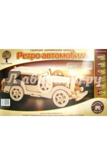 """Сборная дереввянная модель Форд  """"Экскалибур"""" (P014)"""
