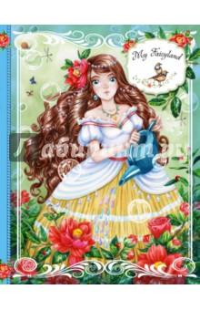 Блокнот My Fairyland, А5Блокноты (нестандартный формат)<br>Признайся, иногда тебе хочется оказаться в сказке. В беззаботной волшебной стране, где всегда светит солнце, поют птицы, небо голубое, вода прозрачная и даже у роз нет шипов. Художница Хитоми Коро нарисовала этот волшебный мир специально для тебя. Наполни его своими планами, фантазиями и мечтами и примерь на себя яркий образ принцессы-волшебницы.<br>