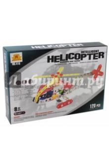 Конструктор металлический Вертолет (120 деталей) (00627)Металлические конструкторы<br>Металлические конструкторы – это прекрасная развивающая игрушка для детей и взрослых. Каждый мальчик любит возиться с инструментами, закручивать различные винтики и гайки. Сложность создаваемых моделей зависит только от количества деталей и фантазии. Детские конструкторы из металла – это игрушка, которая позволяет в игре развивать пространственное мышление, мелкую моторику, внимательность и фантазию. В наборе:  металлические и  пластиковые детали (120 шт.), 2 инструмента для сборки, инструкция. Рекомендованный возраст: 8+<br>