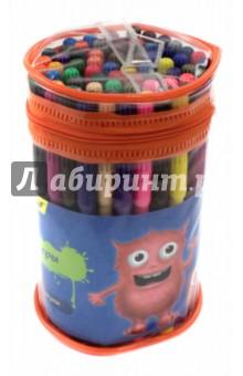 Фломастеры 36 цветов Джинсовая коллекция (867204-36)Фломастеры более 30 цветов<br>Фломастеры.<br>36 цветов, 72 штуки.<br>Корпус из полипропилена.<br>Чернила на водной основе.<br>Яркие цвета.<br>Вентилируемый колпачок.<br>Товар предназначен для рисования по бумаге и картону.<br>Состав: полипропилен, фетр, чернила на водной основе.<br>Содержит мелкие детали.<br>Сделано в Китае.<br>