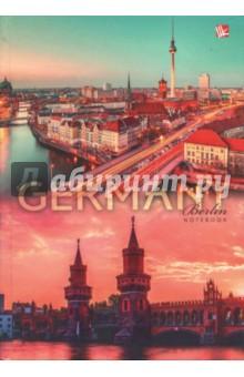 Книга для записей 160 листов, Германия (КЗЛ51602033)Записные книжки большие (формат А5 и более)<br>Книга для записей, клетка.<br>Белый блок. <br>Количество листов: 160.<br>Крепление: сшитый блок.<br>Бумага офсетная.<br>Сделано в России.<br>
