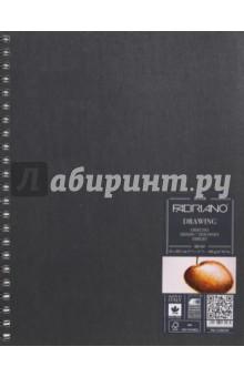 Скетчбук 60 листов, 30х30, белые страницы (41232129)Альбомы/папки для профессионального рисования<br>Блокнот для эскизов Fabriano Drawing Book.<br>Крепление: двойная спираль.<br>Размер: 21x29,7 см .<br>Количество листов: 60.<br>Обложка: твердая.<br>Цвет бумаги: белый офсет.<br>Сделано в Италии.<br>