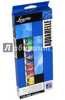 Краски акварельные, 12 цветов, 10 мл, LOUVRE (LF806912)Краски акварельные 12 цветов (9—14)<br>Набор акварельных красок.<br>Количество цветов: 12.<br>Тубы металлические.<br>Упаковка: картонная коробка.<br>Производитель: Франции.<br>