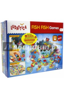 Игра настольная Веселая рыбалка (3 в 1) (57993)Игры на магнитах<br>Набор содержит три простых и веселых игры. Ребенок играет в рыбалку, используя магнитные удочки и деревянных рыб различных форм и цветов. <br>Игра развивает логическое мышление, наблюдательность и внимание, мелкую моторику, воображение.<br>Продукт разработан в Италии, в Центре Исследований и Разработки Lisciani.<br>Возраст: от 3 лет.<br>