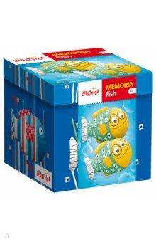 Игра настольная Мемори. Рыбки (58136)Карточные игры для детей<br>Игра-мемори для развития зрительной памяти.<br>В наборе - 20 пар карточек.<br>Правила игры<br>Количество игроков:<br>от 2 до 4 Возраст<br>от 3 лет<br>Мемори<br>Перемешайте все 40 карт и разложите их на столе лицевой стороной вверх. В течение 30 секунд игроки запоминают расположение карт, а затем переворачивают их рубашкой вверх. Первым ходит младший игрок; игра продолжается по часовой стрелке. Игроки по очереди открывают две карты. Если они составляют пару, игрок забирает их себе и делает еще один ход. В противном случае, карты нужно вернуть в исходное положение, а ход переходит к следующему игроку. Побеждает игрок, собравший больше всего пар. Можно постепенно увеличивать количество<br>используемых в игре карт. Игра способствует развитию зрительной памяти.<br>Что пропало?<br>Оставьте на столе по одной карте каждой породы собак и попросите ребенка запомнить их. Затем уберите одну или несколько карт. Ребенок должен угадать, карты с какими собаками спрятали.<br>Игра развивает зрительную память, внимательность и наблюдательность.<br>Найди карточку по описанию<br>Познакомившись с породами собак, можно поиграть в следующую игру. Задумайте карточку и опишите изображенную на ней породу собаки (например, внешний вид, особенности характера). Затем попросите второго игрока найти задуманную карту. Поменяйтесь ролями.<br>Игра развивает логическое мышление, наблюдательность, расширяет кругозор.<br>Состав набора:<br>20 пар карточек из толстого прочного картона, инструкция на упаковке.<br>Продукт разработан в Италии, в Центре Исследований и Разработки Lisciani.<br>Возраст: от 3 лет.<br>