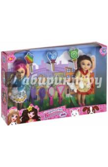 Игровой набор из 2-х кукол Красотка mini (Т10176)Куклы<br>Игрушка: куклы с аксессуарами и животными.<br>12 предметов.<br>Материал: пластмасса, текстильные материалы.<br>Для детей от 3-х лет.<br>Сделано в Китае.<br>