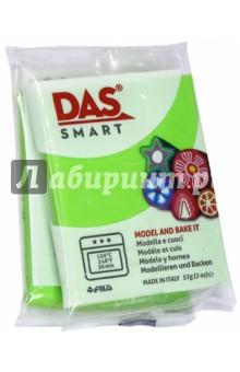 Полимерная паста, 57 грамм DAS SMART яблоко (321017)Лепим из пасты<br>DAS SMART Полимерная паста для моделирования, 57 грамм, зеленое яблоко.<br>Для детей от 3 лет.<br>Сделано в Италии.<br>