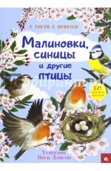 В гости к природе. Малиновки, синицы и другие птицыЖивотный и растительный мир<br>Эта книга с наклейками расскажет тебе о птицах и о том, как и где они живут.<br>120 красочных наклеек внутри. Найди для каждой птицы подходящее место: посели уток в пруду, сов - в ночном лесу, а скворчат - в скворечнике.<br>Для детей 7-9 лет.<br>