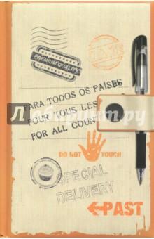 Блокнот Special delivery, А6Блокноты средние Точка<br>Блокноты серии прекрасно подойдут для записи творческих идей, учебных заметок или любых других памяток, а также девчачьих секретиков и ваших важных мыслей, а удобный карманный формат позволяет их брать куда угодно. Блокноты изготовлены из офсетной бумаги в точку и имеют прочный переплет с мягкой подложкой из поролона. Они станут отличным приобретением или подарком для всех, кто привык на ходу фиксировать информацию, писать и рисовать.<br>80 листов.<br>