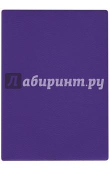 Ежедневник недатированный 160 листов, А6+, НАППА ФИОЛЕТОВЫЙ (45269)Ежедневники недатированные и полудатированные А6<br>Ежедневник недатированный, формат А6, 320 страниц, ляссе.<br>Материал: бумага офсетная, картон переплетный, полиуретан.<br>Сделано в Китае.<br>