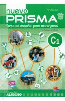 Nuevo Prisma. Nivel C1. Libro del alumno (+CD)Испанский язык<br>Nuevo Prisma es un curso de espanol estructurado en seis niveles que sigue un enfoque comunicativo, orientado a la accion y centrado en el alumno con el fin de fomentar el aprendizaje de la lengua para la comunicacion en espanol dentro y fuera del aula.<br>Este curso supone una evolucion de Prisma, con una reorganizacion de contenidos a partir del PCIC y una renovacion importante de textos y actividades, ademas de incorporar en sus dinamicas las ultimas tendencias metodologicas y nuevas herramientas interactivas y multimedia que aportan un plus al proceso de ensenanza/aprendizaje del espanol, tanto dentro como fuera del aula.<br>Enfoque comunicativo, orientado a la accion y centrado en el alumno: concepcion comunicativa de la lengua que plantea el aprendizaje centrado en el alumno al que considera como un agente social que debe realizar tareas o acciones en diversos contextos socioculturales movilizando sus recursos cognitivos y afectivos.<br>Reorganizacion de contenidos segun las recomendaciones del MCER y conforme a los contenidos del PCIC.<br>Nuevos textos y actividades actualizadas.<br>Actividades que trabajan el componente afectivo como estrategia para motivar el aprendizaje.<br>Reflexion gramatical clara y accesible para el estudiante con actividades que hace que el estudiante participe de modo activo en su adquisicion. nuevo Prisma propone el aprendizaje de la gramatica como un ingrediente mas que debe estar al servicio de la comunicacion, un instrumento que permite alcanzar el objetivo comunicativo planteado.<br>Secuencias de actividades centradas en el trabajo cooperativo para que los alumnos trabajen juntos en la consecucion de las tareas optimizando su propio aprendizaje y el de los otros miembros del grupo.<br>Estrategias de aprendizaje y de comunicacion para que el alumno reflexione sobre su proceso de aprendizaje.<br>Reflexion intercultural y acercamiento a la diversidad cultural del mundo